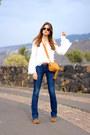Stradivarius-jeans-chloe-bag-sheinside-blouse