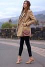 Shein-coat-zara-jeans-mango-scarf-zara-heels