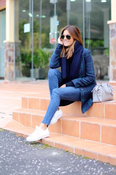 Zara jeans - Mango jacket - Michael Kors bag - Adidas sneakers