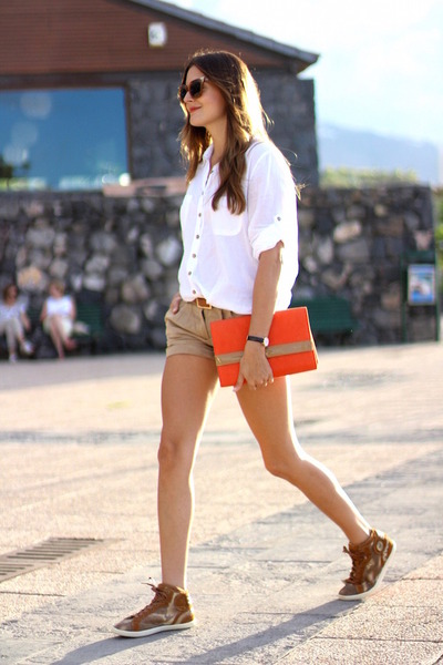 Bershka-shorts-fendi-sunglasses-daniel-wellington-watch