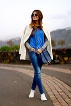Converse sneakers - Zara coat - PERSUNMALL bag - pull&bear sweatshirt