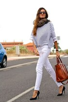 Massimo Dutti bag - zeroUV sunglasses - pull&bear panties - nowIStyle t-shirt