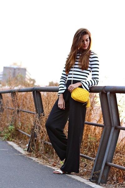 Zara top - imperio clandestino bag - inlovewithfashion panties - Zara sandals