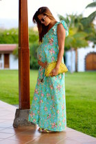the mommy company dress - natura bag - pull&bear sandals