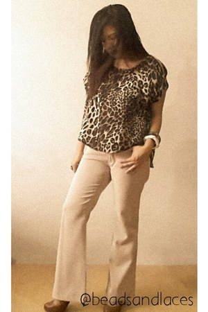animal prints Beads and Laces blouse - light metals Beads and Laces bracelet