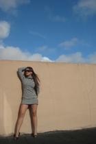 Forever21 dress - franco sarto shoes