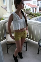 Lux top - Forever21 shorts