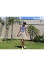 White-blouse-eggshell-forever-21-skirt-ivory-dakots-flats