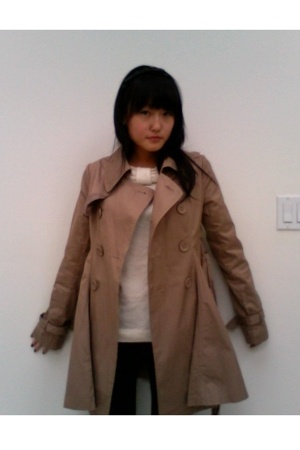 f21 coat - Marc by Marc Jacobs shirt - J Brand jeans - f21 accessories