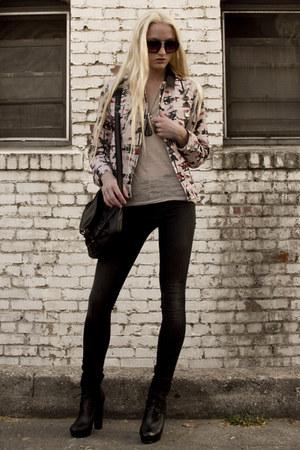 Isabel Marant jacket - Helmut Lang jeans - jas mb bag