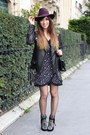 Tan-ugg-boots-black-isabel-marant-boots-deep-purple-clo-se-dress