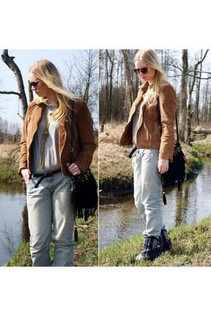 tawny c&a jacket