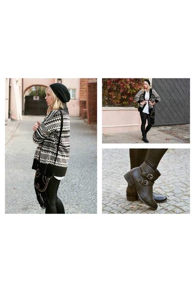 black Merg boots