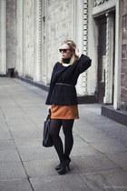 tawny new look skirt