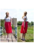 hot pink SH skirt