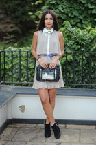Lavand Boutique dress - Kurt Geiger boots - urband outfitters bag