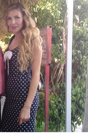 polka dot Stop Staring dress