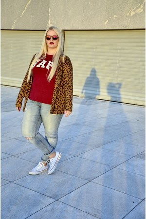 Gap t-shirt - H&M jeans - H&M cardigan