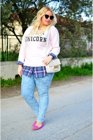 Primark jeans - pull&bear sweatshirt