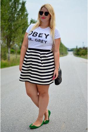 H&M skirt - MeUnique t-shirt