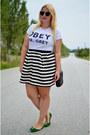 H-m-skirt-meunique-t-shirt