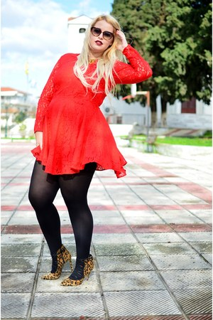H&M dress - Sante heels