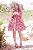 bubble gum Primark dress - tawny Laocoonte clogs