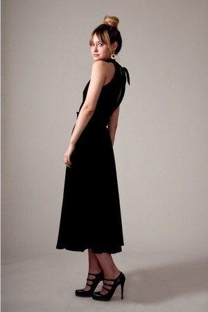 black maxi dress vintage from Market Publique dress