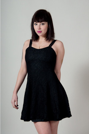 black vintage from Market Publique dress
