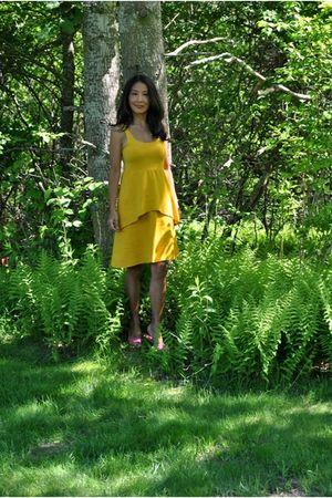 gold Marsilia21 dress