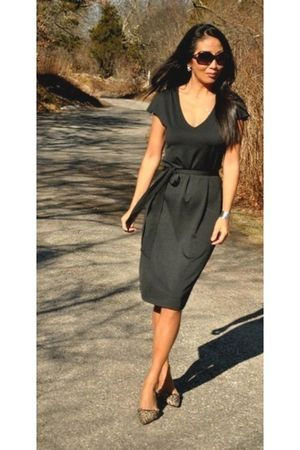 black marsilia dress