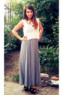 Heather-gray-zara-dress-new-look-sandals-h-m-trend-top