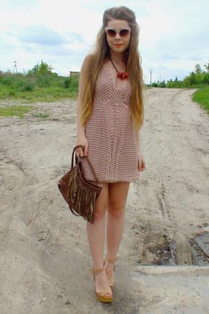 nude dress