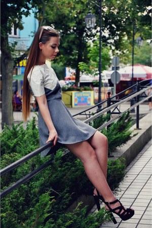 heather gray dress