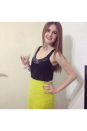 Primark skirt - Primark heels - blouse
