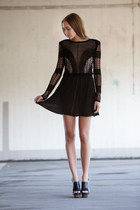 black lace dagmar dress