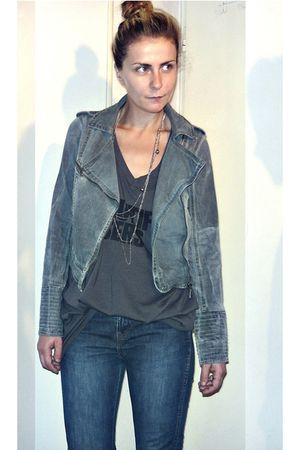 pull&bear jacket - Levis jeans