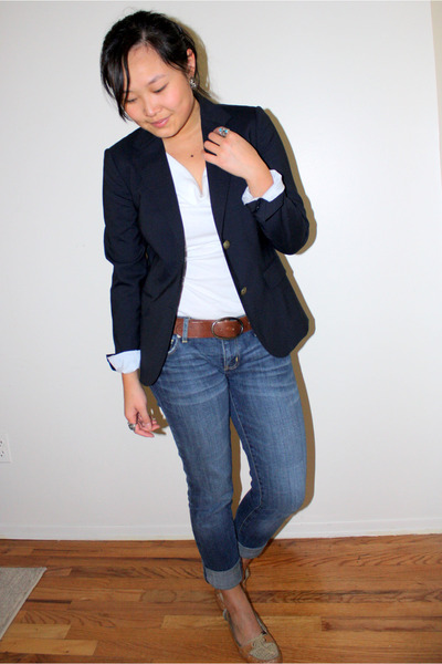Blue Blazer Outfit - Trendy Clothes