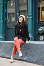 Heather-gray-ankle-boots-pour-la-victoire-boots-coral-color-mih-jeans