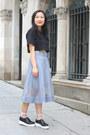 Black-flatforms-other-stories-shoes-black-h-m-top-sky-blue-mesh-cos-skirt