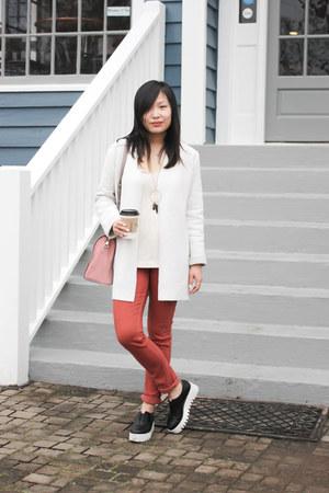 light pink shoulder bag kate spade bag - coral MIH Jeans jeans