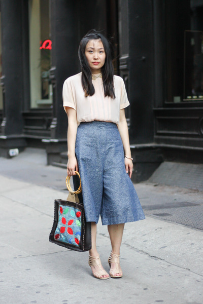 9e74d60b24f Denim Culottes with a Hint of Quirkiness. Updated on Jul 14