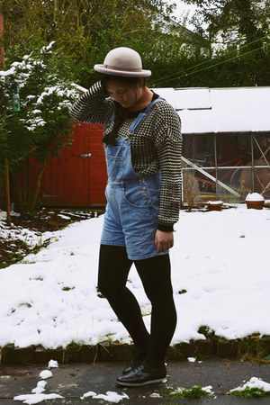 heather gray Topshop hat
