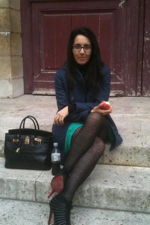 Hermes bag - Christian Louboutin shoes - Nanette Lepore coat - PROENZA SCHOULER