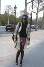 Red-valentino-dress-beige-burberry-coat-black-h-m-shirt-black-h-m-tights-