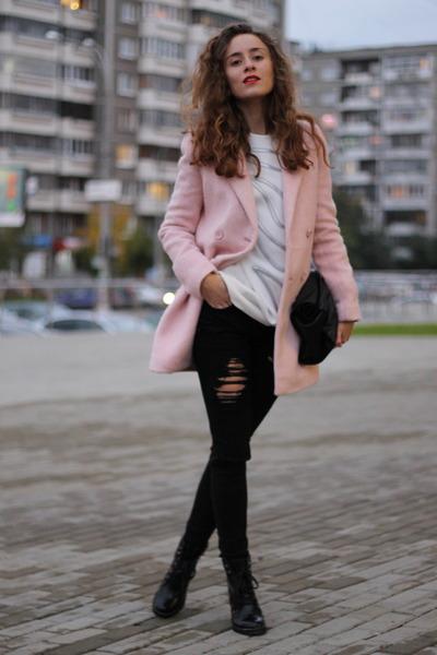 light pink BeFree coat