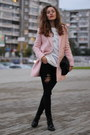 Light-pink-befree-coat
