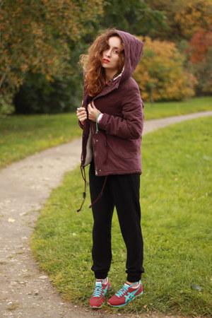 maroon BeFree coat