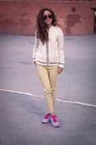 eggshell pull&bear jacket - beige Ebay pants