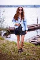Ebay bag - H&M skirt